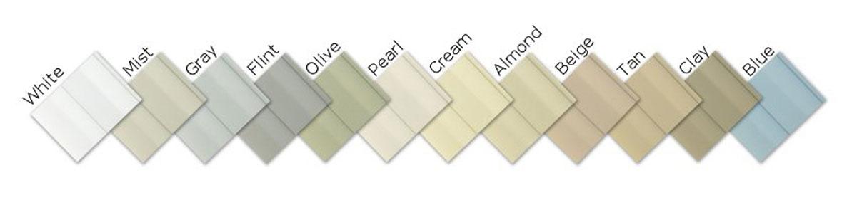 color options vinyl storage shed