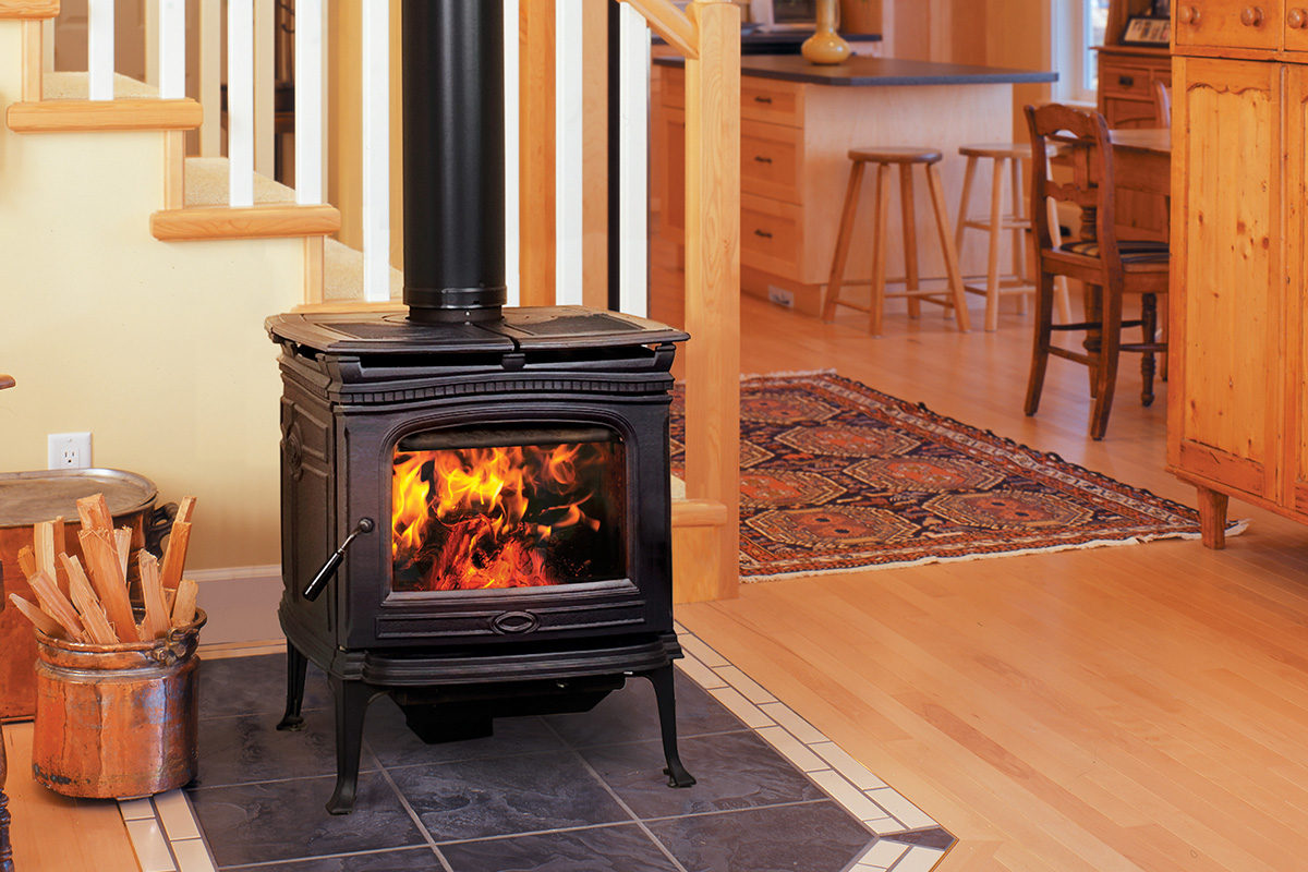 alderlea cast iron wood stove