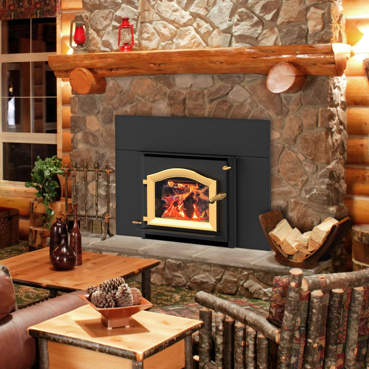 alpine fireplace insert
