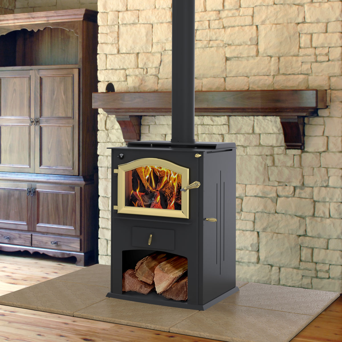 cambridge wood stove for sale