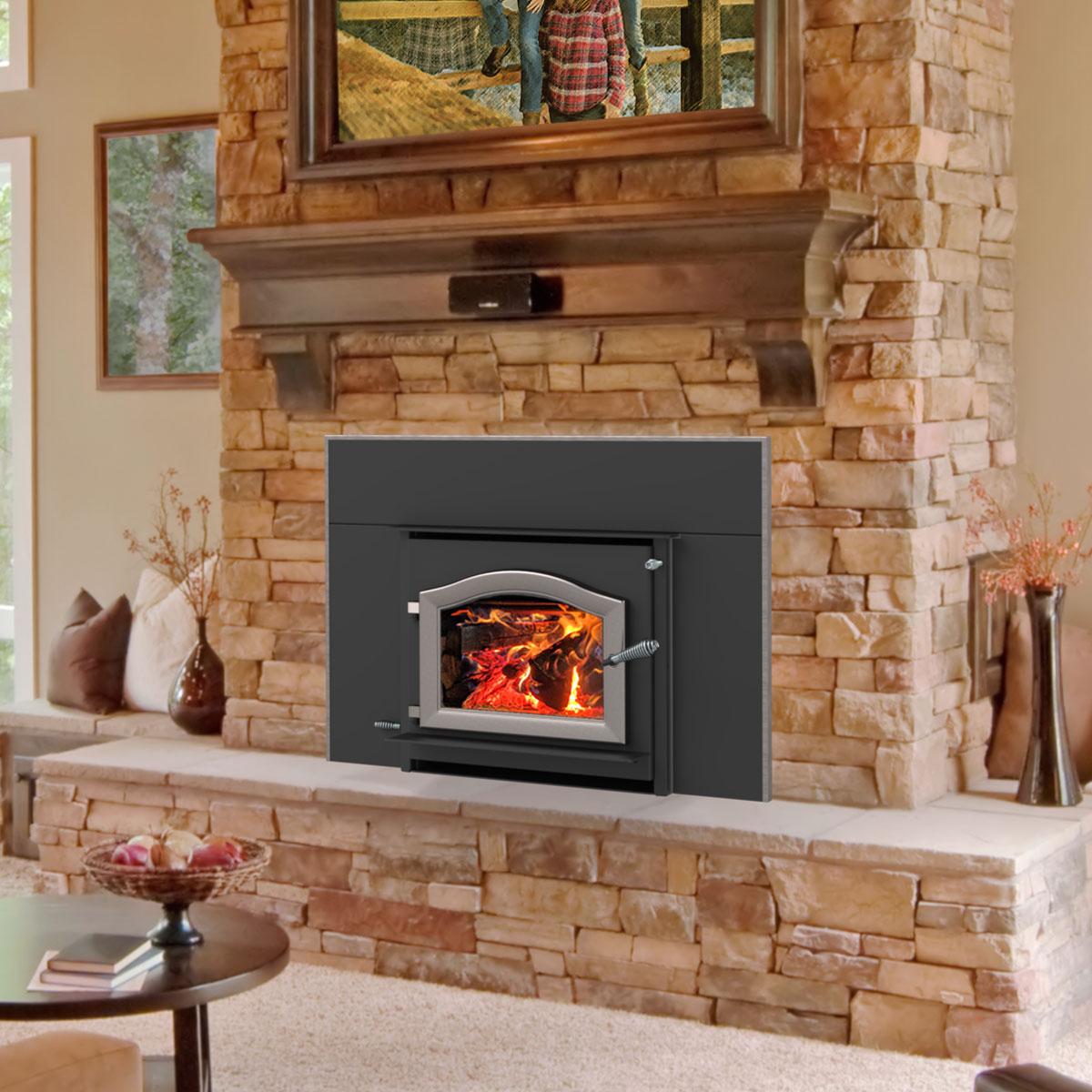 cascade fireplace insert