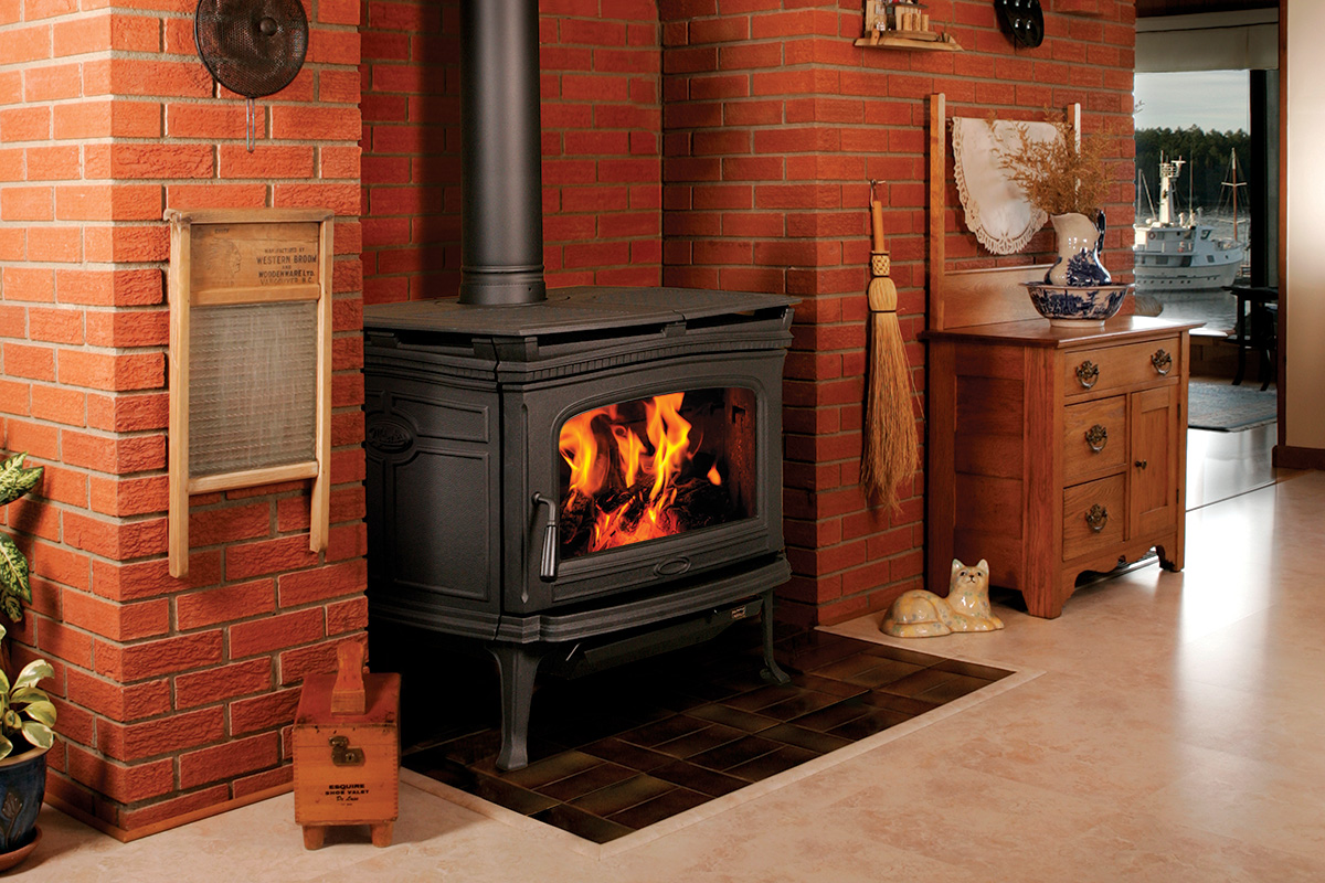 catalytic free wood stove